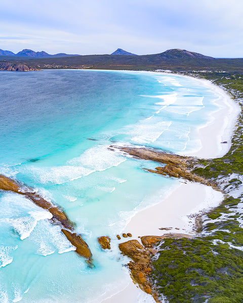 THE VIEW IN LUCKY BAY