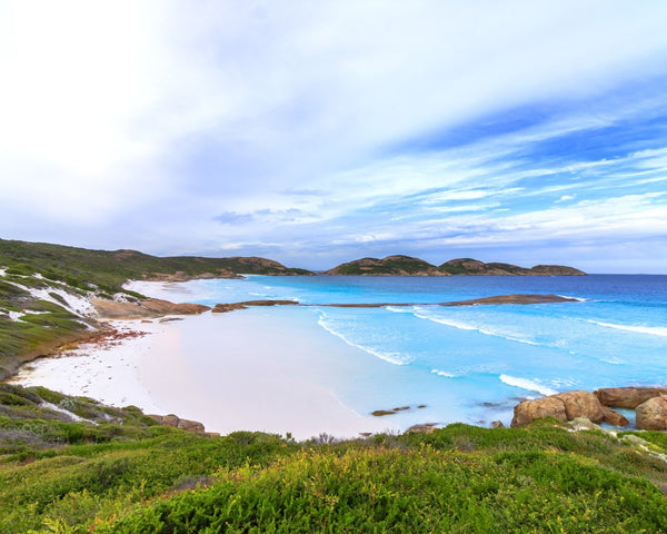 Lucky Bay - Blue Tones