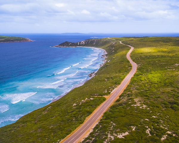 Coastal Road in Esperance