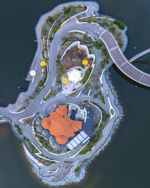 Elizabeth Quay from above