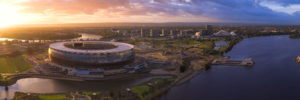 New Perth Stadium from Above