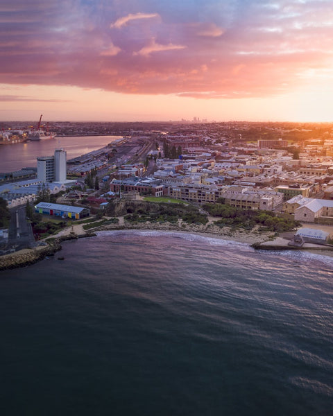Sunrise over beautiful Fremantle