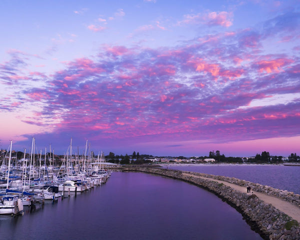 Pink Clouds in Fremantle