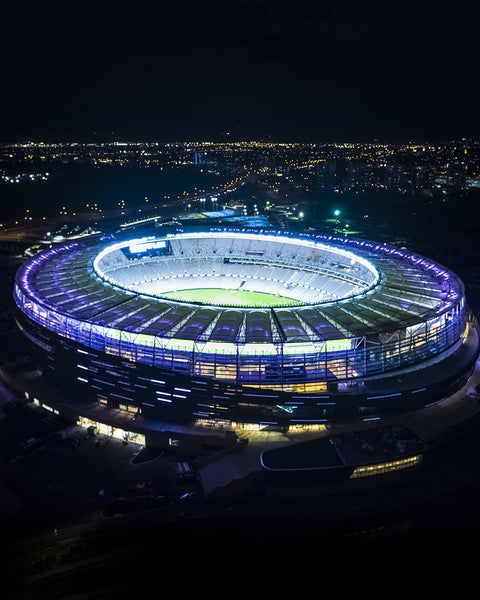 Optus Stadium Lights