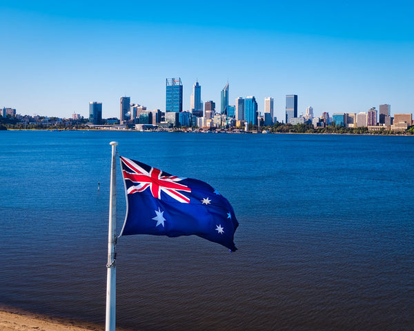 Australian Flag at South Perth