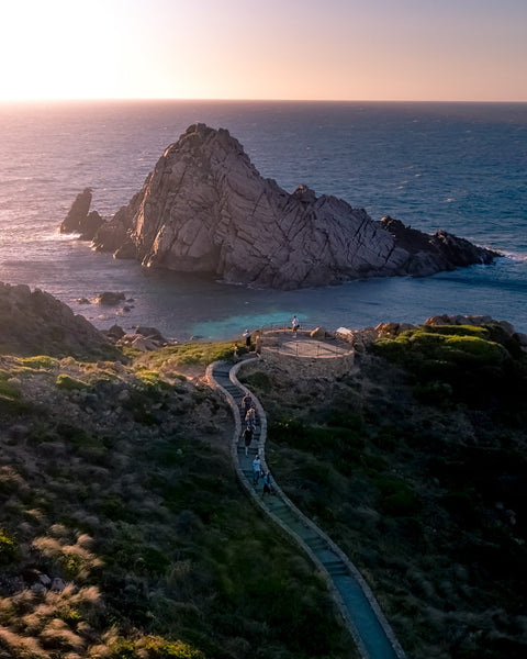 Sunset at Sugar Loaf Rock