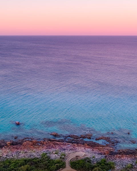 Last lights in Eagle Bay