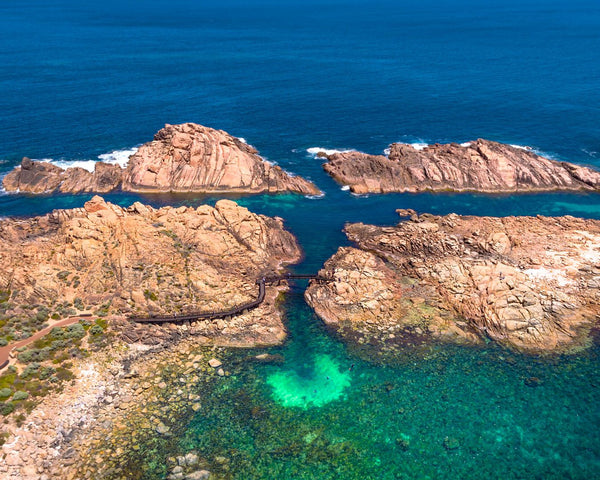 Canal Rocks Bridge from above