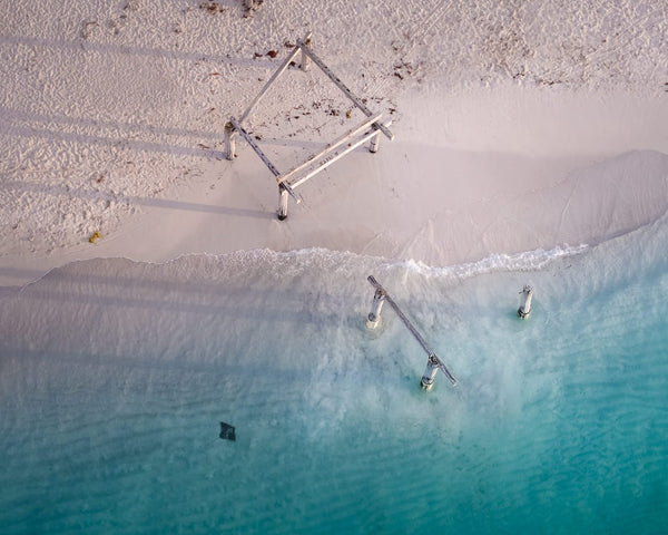 Hamelin Bay from above