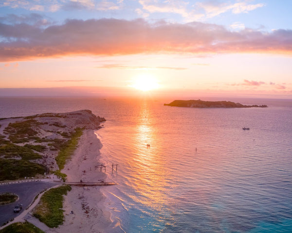 Magical sunset in Hamelin Bay