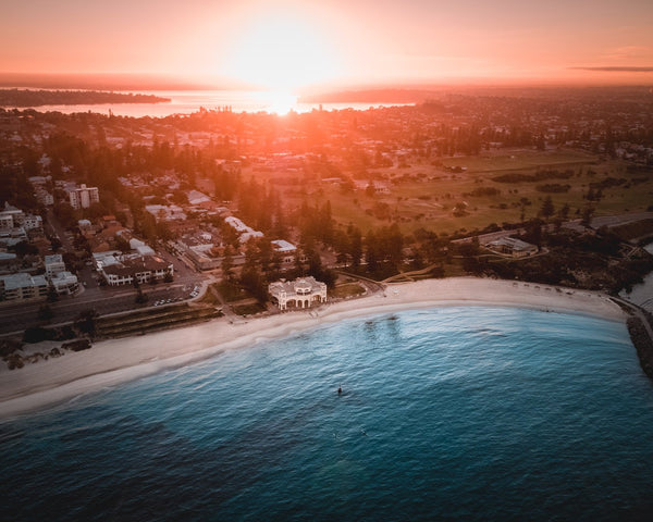 Esplendid Sunrise at Cottesloe Beach