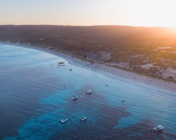 Sunrise in Hamelin Bay