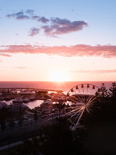 Sunset at Esplanade Park, Fremantle