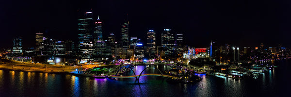 Perth CBD at Night