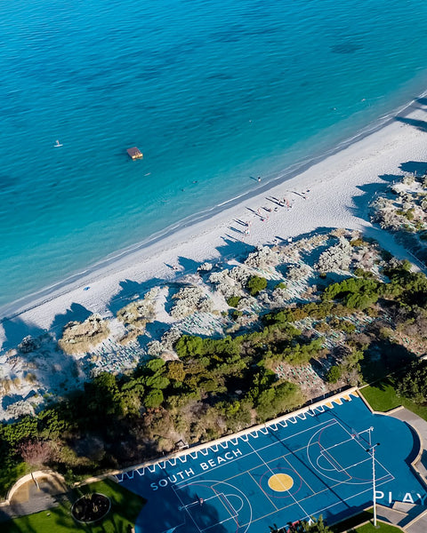 The new South Beach Sports Court