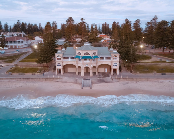 The beautiful Cottesloe Beach
