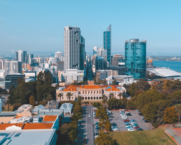 Perth view - Parliament House