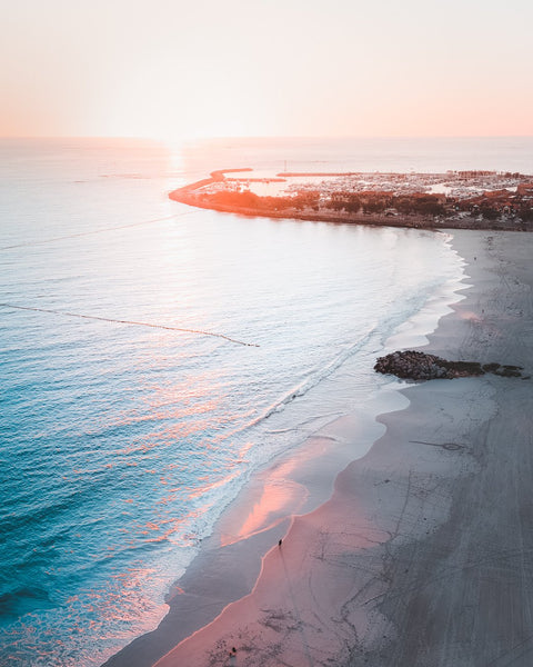 Winter Sunset at Sorrento Beach