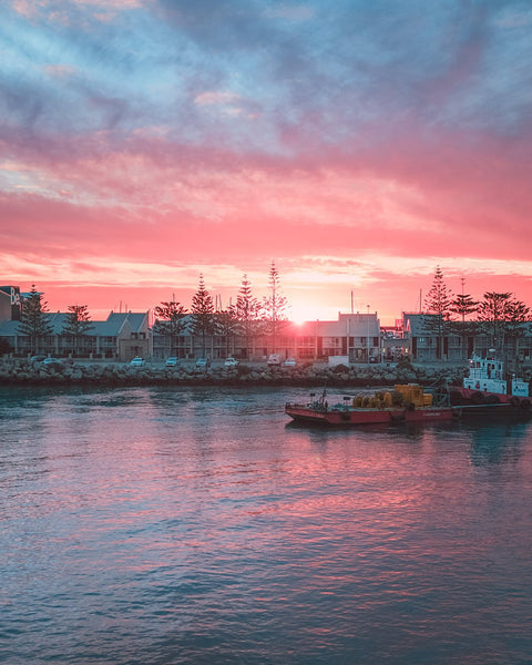 Sunset colours in Fremantle
