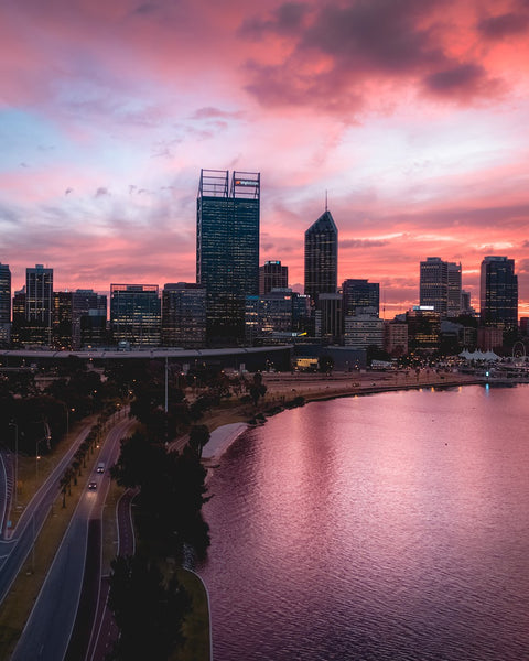 Early mornings in Perth