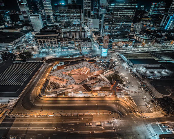 Yagan Square at Night
