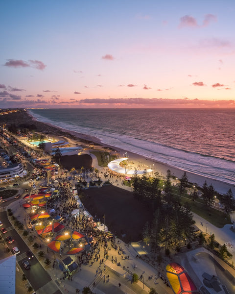 Sunset Market at Scarborough Beach