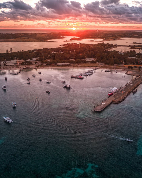 Incredible Sunset in Rottnest Island