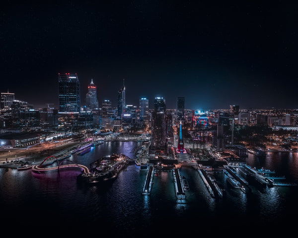 Beautiful Perth at Night