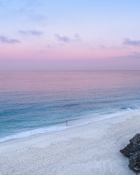 Peaceful surinse at Cottesloe Beach