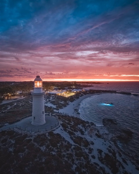 Amazing Sunset over Bathurst Lighthouse