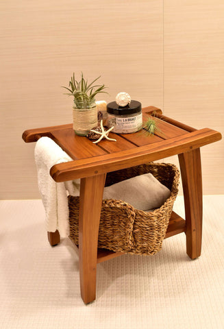 Bench - Teak Shower Bench