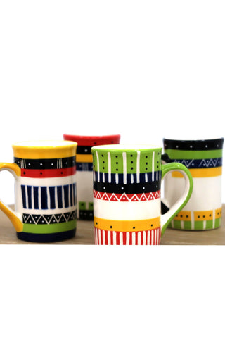 Limpopo Rainbow Mugs Set of 4 - Paradiddle Lifestyle