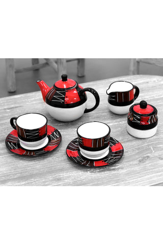 Limpopo Red Earth Teapot Set - Paradiddle Lifestyle