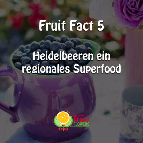 Heidelbeeren Superfood Fruit Fact