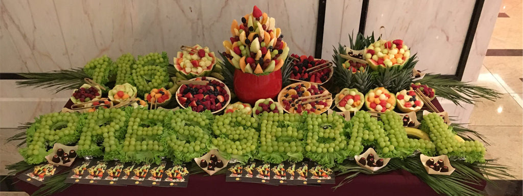 Obstbar Obstcatering Fruity Flowers