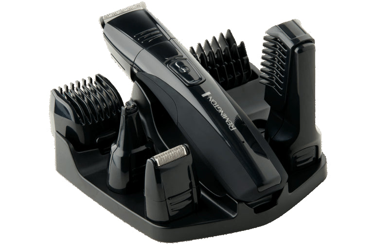 Remington Barber's Best 4-In-1 Personal Groomer/Shaver/Trimmer Cordless- PG526AU