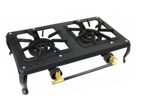 Bromic Double (2) Burner Country Cooker- Suitable For Camping & Events- CC200