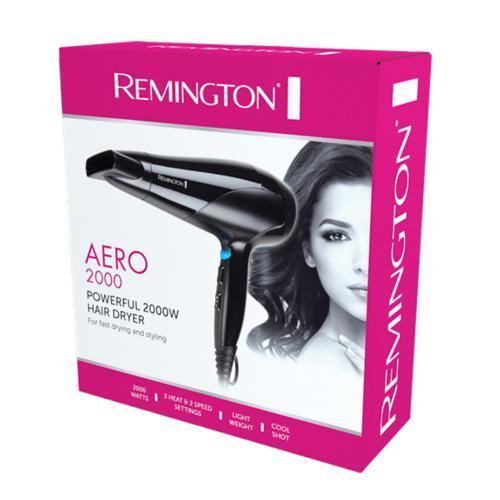 Remington Powerful Aero 2000W Hair Dryer- D3190AU