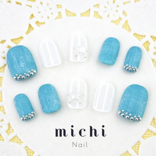 Mat Denim Nail