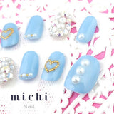 Pastel Blue * Party Invite Nail