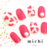 Simple Heart Art Nail