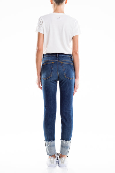 0007 FIRENZE Skinny Denim Confort