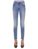 FIRENZE Skinny 36-4021 Col.Baby Blu  Stretch H24 Indeformabile