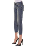 JEANS BOLOGNA 12-0091 denim stretch Col. Blu