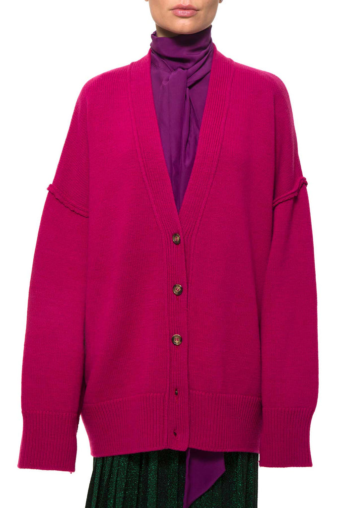RUBEN WO8005 Color Loto Cardigan Wool/Cachemire