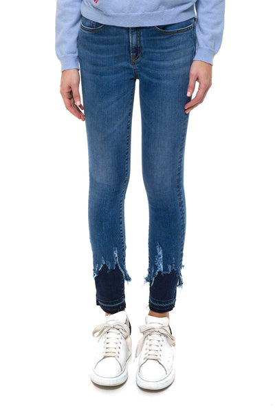 VENEZIA0010  Blu  Skinny Denim H24 Indeformabile stretch