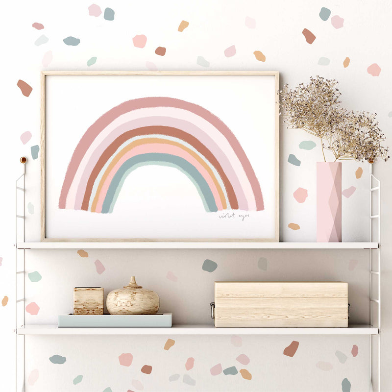 CONFETTI WALL DECAL / BLUSH