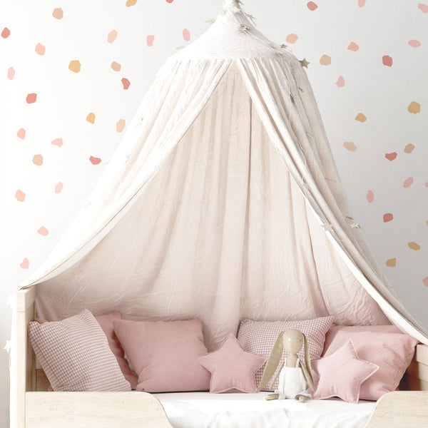 CONFETTI WALL DECAL / SAVANNAH