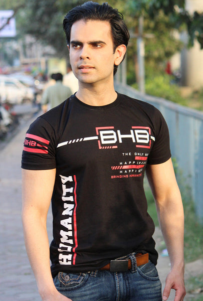 NEW: Unisex BHB The Only Way to Buy Happiness, T-shirt. Shop for Cause. Free shipping