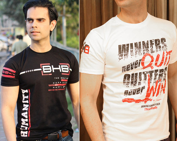 2 Motivation T-shirt Special Sale. Shop For Cause. Free Shipping